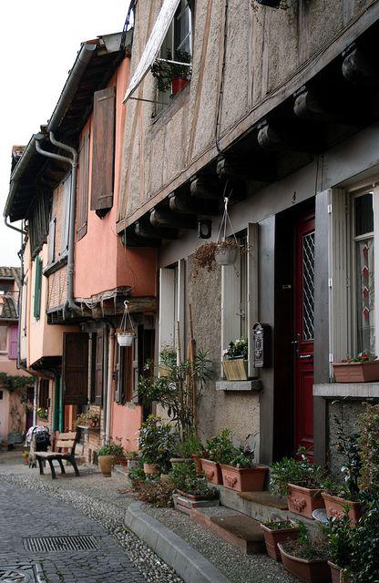 Old Houses - Albi, France