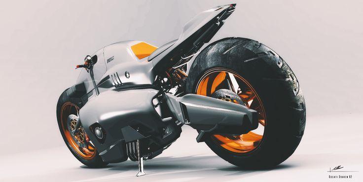 ArtStation - Ducati Draven V2, Malchus Akash