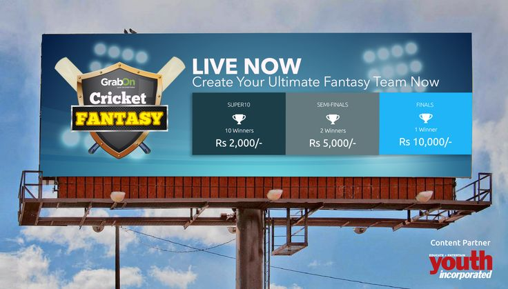 Now you can win with India too. Create your team today! With #YouthIncMag as Content Partner http://www.grabon.in/cricketfantasy/  #UltimateFantasy #GrabTheCup