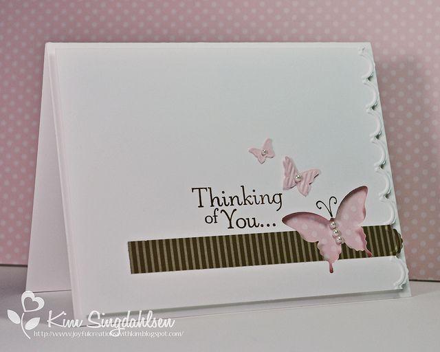 Lovely butterfly card.