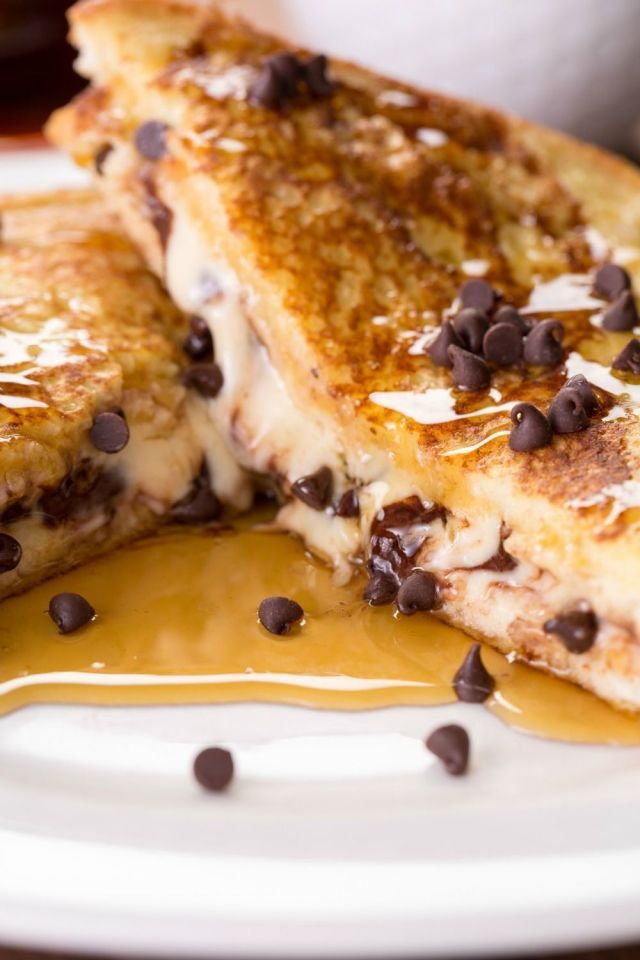 Cookie dough French Toast! Here's The Right Way To Make Stuffed French Toast