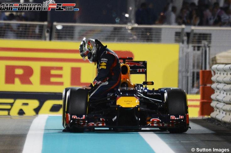 - Sebastian Vettel no ha podido llegar a boxes