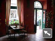 Restaurace u knihovny - Vítejte v café!  Good Czech food, inexpensive, in the center of Prague, not smokey