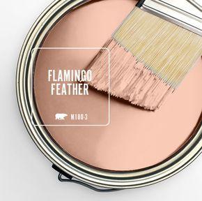 27 best kilz casual colors palettes images on pinterest for Flamingo feather paint