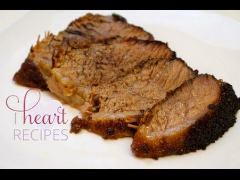 What's For Dinner? | How to cook Brisket in the oven - I Heart Recipes - YouTube