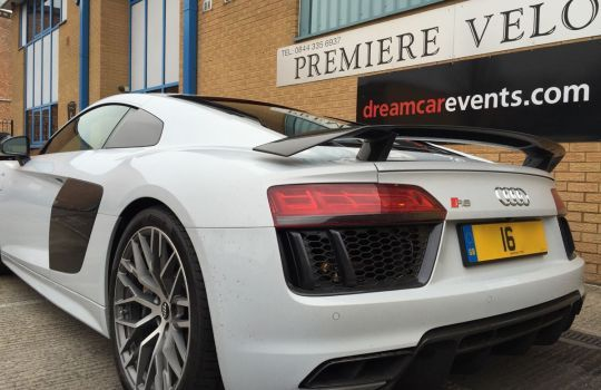 Audi R8 V10 Plus Hire | Supercar Rental London | Premiere Velocity
