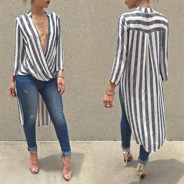 Sexy Swallowtail blouse shirt (FREE SHIPPING)