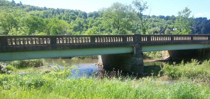 Bridge over a Potter County, PA creek.