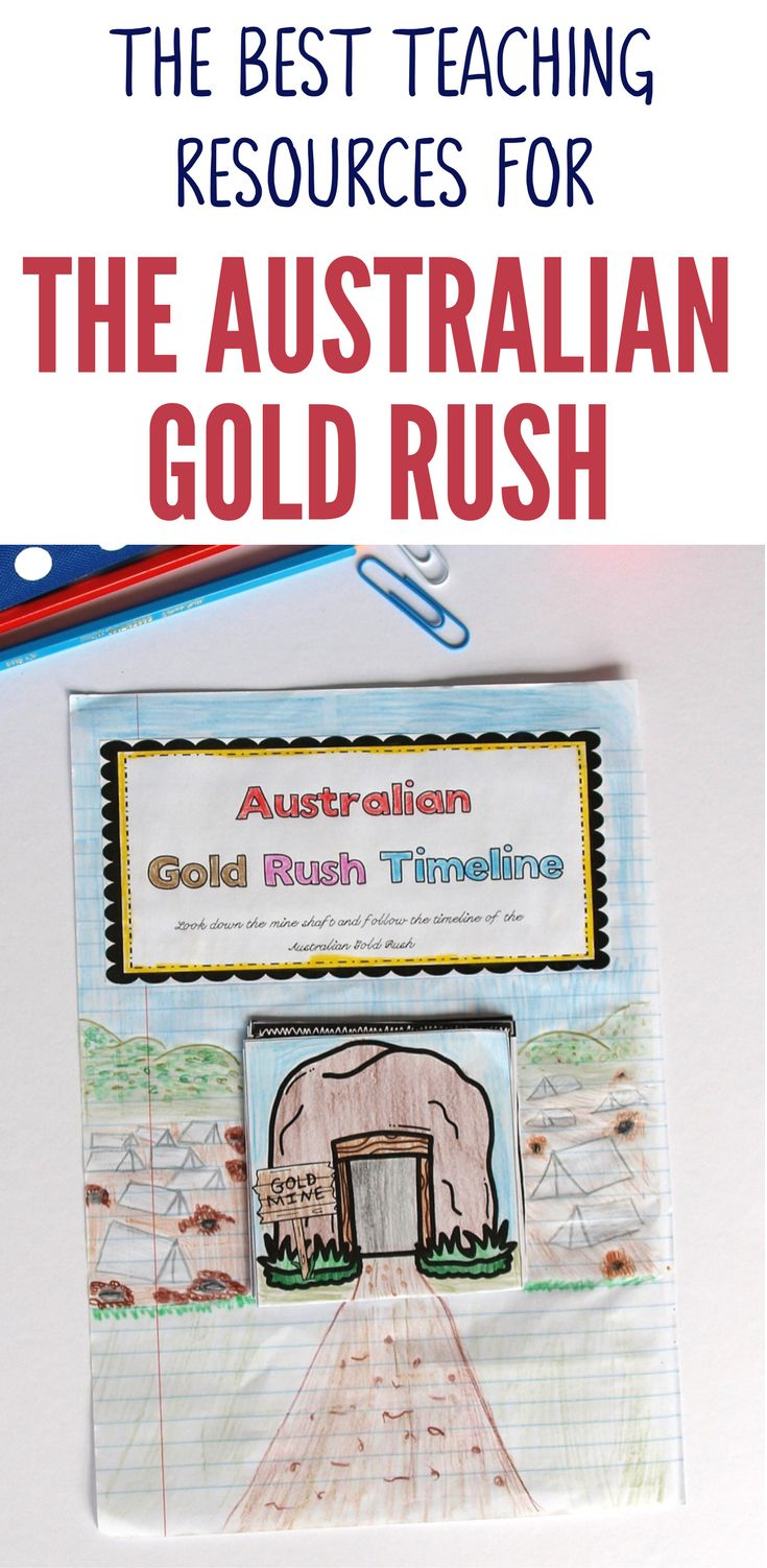 These Australian Gold Rush teaching resources are so much fun! Your Year 5 HASS students will love learning about this exciting and wild time in Australia's history. With fun and interactive activities your students will be able to develop a genuine understanding of the impact the Australian Gold Rush had on the development of colonial Australia and its lasting legacy on Australia's political system.
