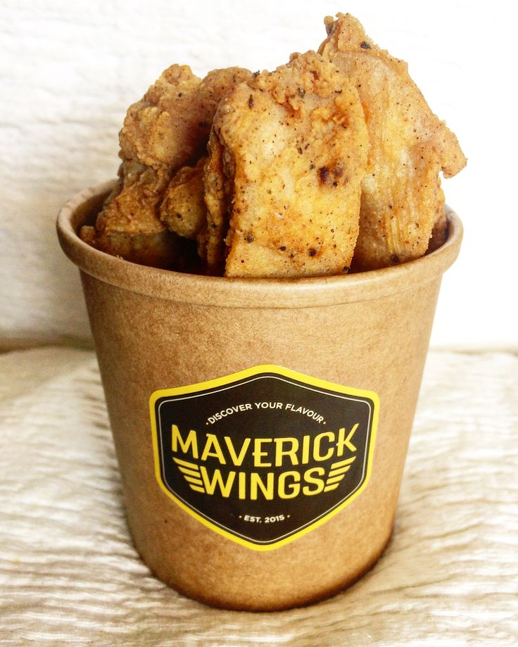 Maverick Wings® - Boneless Chicken Strips, with our crispy batter containing unique herbs and spices.