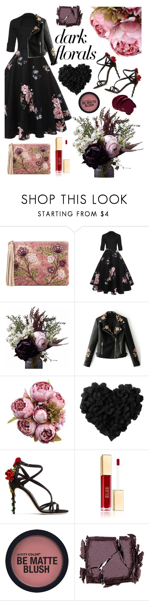 """""""071"""" by holography ❤ liked on Polyvore featuring Sam Edelman, Abigail Ahern, WithChic, Dolce&Gabbana and Surratt"""