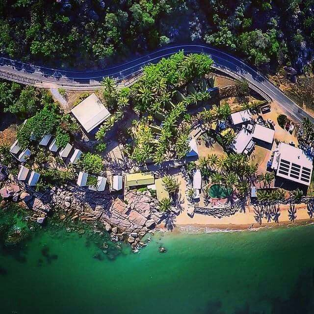 overhead view Magnetic Island