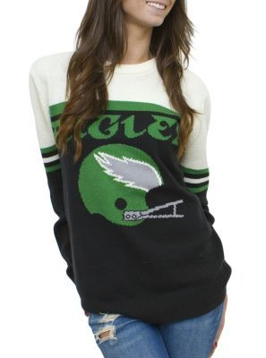 Junk Food Clothing's vintage NFL Philadelphia Eagles sweater. WANT>NEED>NOW.