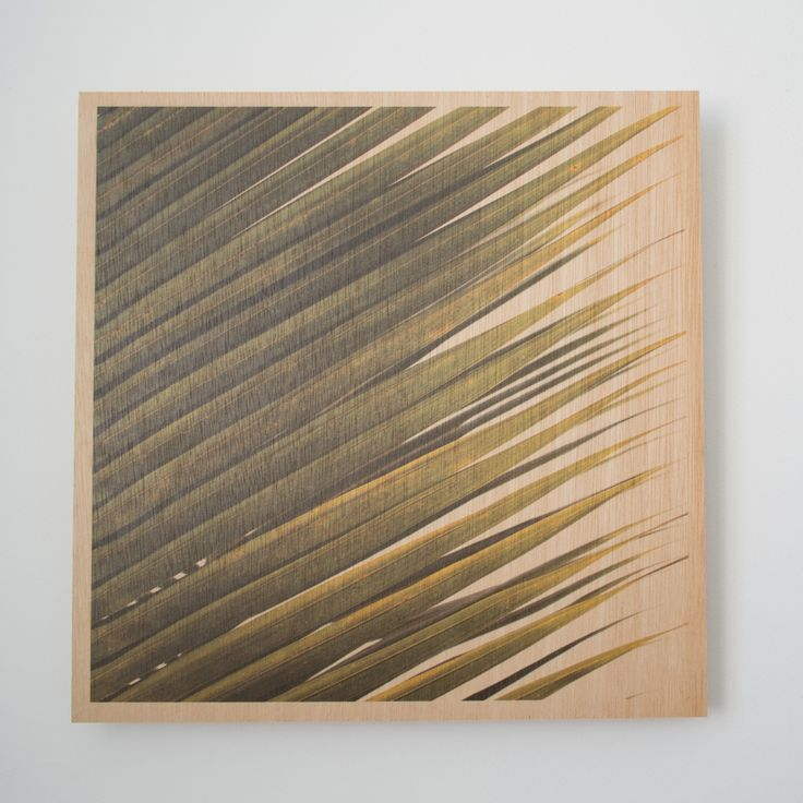 Jo Ward Photography Leaf 300 mm x 300mm image printed directly onto 6mm marine grade plywood using UV print technology.  Comes complete with a ready to hang aluminium wall mount system