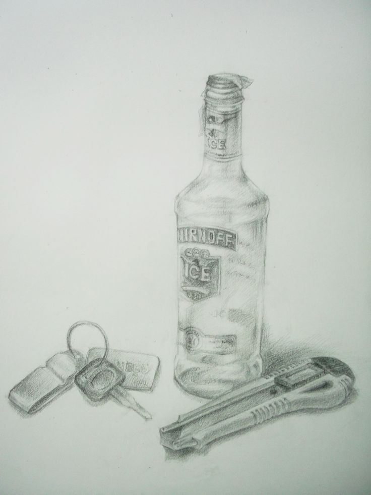 still life Drawing Pencil by Sittichai Pijitam (cycnas)