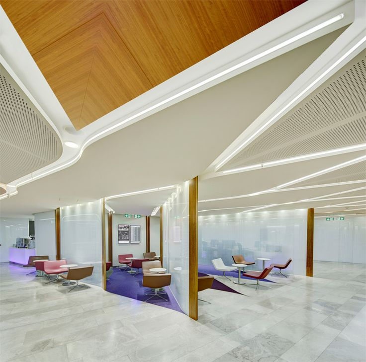 Virgin australia airport lounge sydney photograph by for Arquitectura de interiores