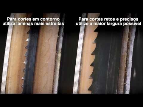 (1) Starrett: Como fazer? Lâmina de Serra de Fita DFB - YouTube