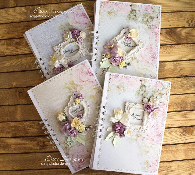 Волшебство на кончиках пальцев: Дневники невест и свадебные коробочки
