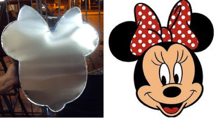 Molde Minnie Mouse 2 - 3 lbs