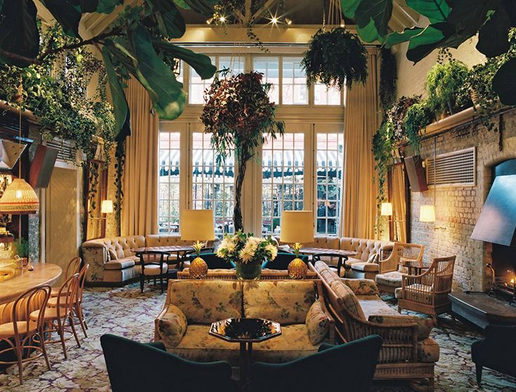 London's Chiltern Firehouse is a celeb hot-spot and insider favorite. What's more it's another Andre Balaz masterpiece.