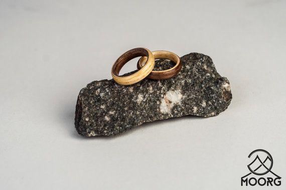 American Wallnut and Ash Wedding Engagement by MoorgWoodWorks