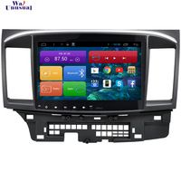 1024*600 Quad Core 10.2'' Android 4.4 Car DVD for Mitsubishi Lancer 2010-2015 With Bluetooth 16GB Nand Flash 3G Wifi Mirror Link