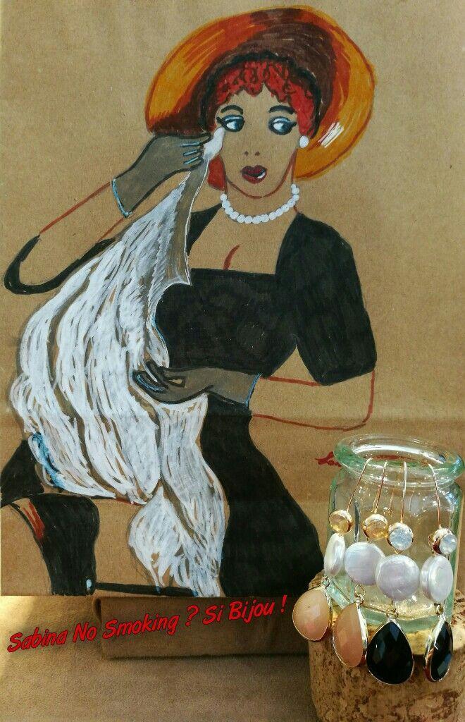 Orecchini classici di perle  Vetrina #sabinanosmokingsibijou