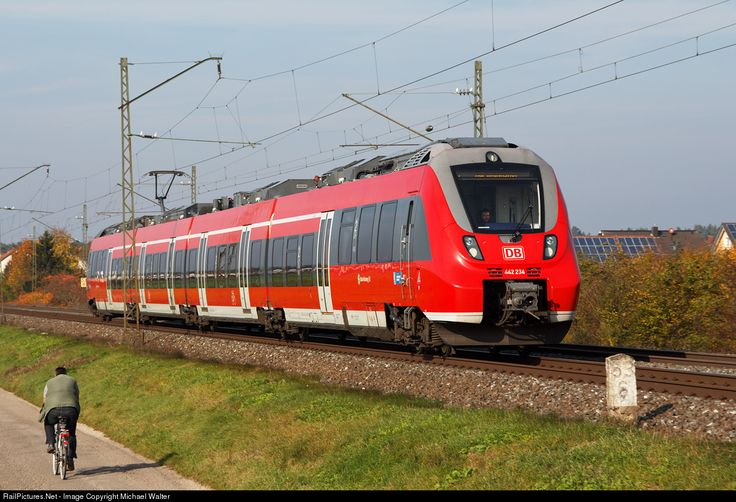 RailPictures.Net Photo: 442 243 DB AG Bombardier Talent-2 at Strullendorf, Germany by Michael Walter
