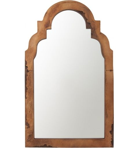 Mirror Aladdin Arched Top Antique Finish