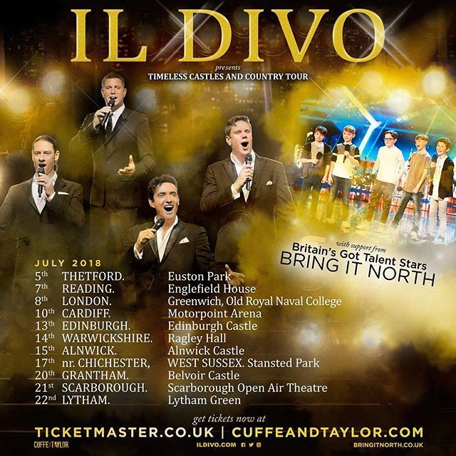 Uk Tour Heads Up Britains Got Talent 2018 Entrants Bring It North Bringitnorth Will Be On In The Uk As Support For Our Uk Tours Britain S Got Talent Tours