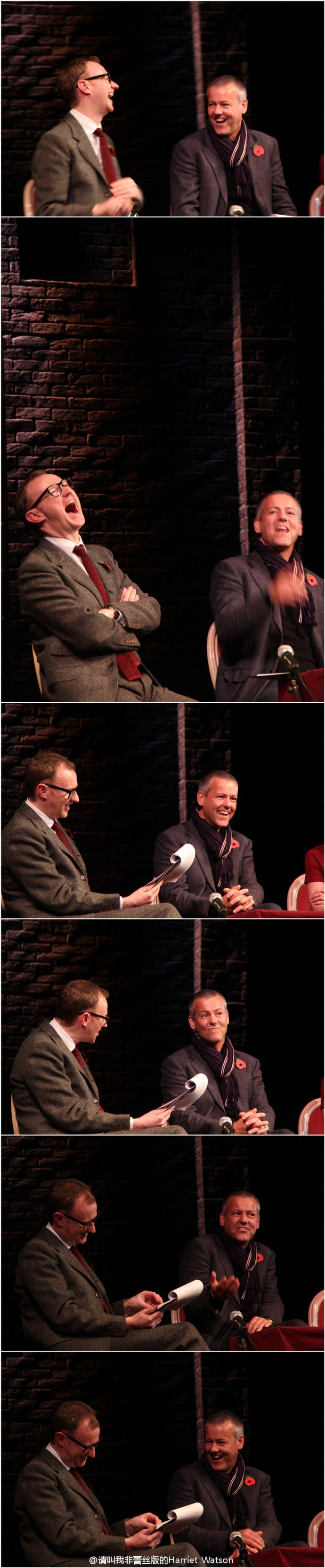 Rupert Graves Fans - Rupert and Mark on stage together?! Yes, with photo!