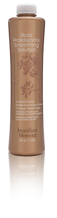 this is the real brazilian blowout smoothing system. If you have curly or frizzy hair and it take you more than 30 minutes to blowdry and flat iron your hair, this is a good investment for you. it cuts down on blow dry time and depending on how straight or curly your natural hair is  you may not even need to flat iron your hair.