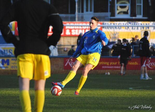 Charley Sanders,  King's Lynn Town FC   11/1/14