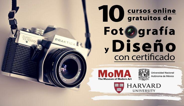 10 cursos online gratuitos de Fotografía y Diseño (con certificado) - Oye Juanjo!
