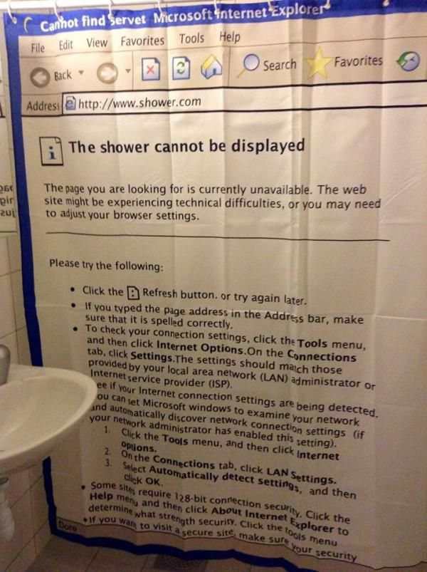 A Shower Curtain Can Tell You A Lot About A Person (30 Photos)