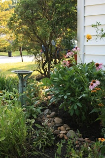 Casual yet structured English Cottage Garden