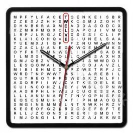 Nástenné hodiny WordFind http://www.coolish.sk/sk/originalne-darceky/nastenne-hodiny-wordfind