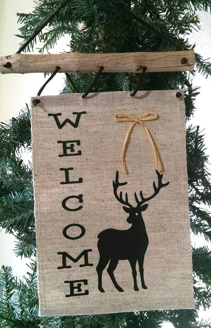 Welcome Door Sign, Door Banner, Wall Art, Wall Hanging, Boho Art,  Southwestern Wall Decor, Driftwood Art, Holiday Decorations, Ornament, by TheDriftingStones on Etsy