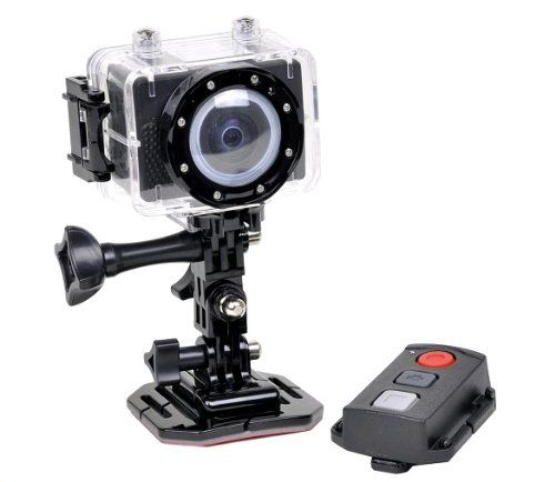 SPORT CAMERA - Actionpro 1080p Hd Video Action Sports Camera Camcorder with Waterproof Case& Remote Control. LCD Screen, Quick Release Buckle Mount, Free Gift Micro Sd Card 4gb, Cm-7200 from  $139.90