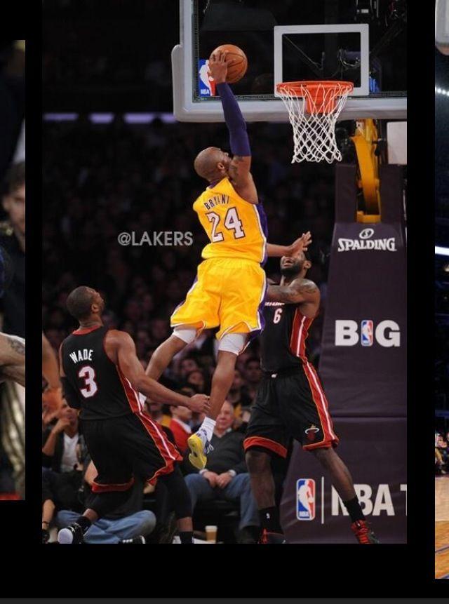 Kobe on Lebron