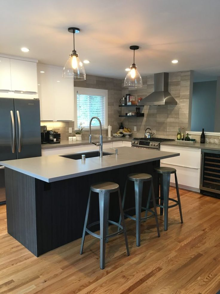 Kitchen Decor Cheap Kitchen Remodeling: This IKEA Kitchen Design Has A Combination Of RINGHULT