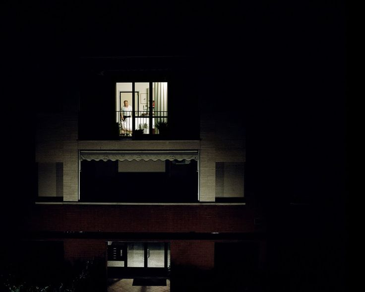 "GIORGIO BARRERA: ""THROUGH THE WINDOW"" We all love a little stalking..."