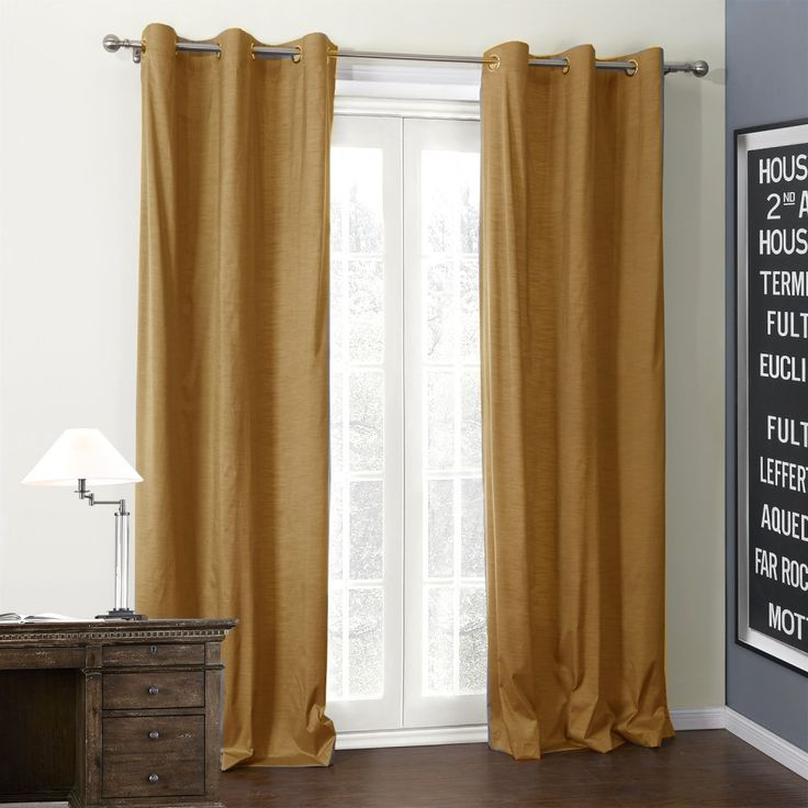 Solid Soil Color Coating Thermal Curtain  #curtains #homedecor #decor #homeinterior #interior #design #custommade