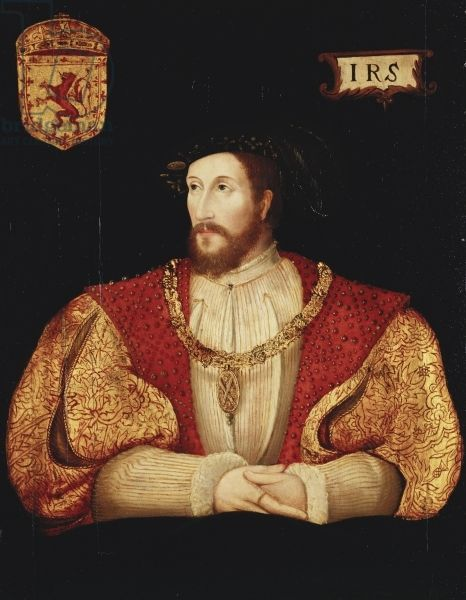 James V of Scotland, c.1540 (oil on panel)