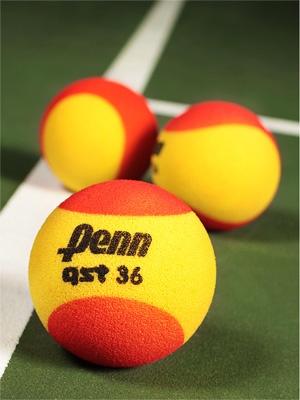 Penn Quick Start Tennis 36' Red Foam Ball 3 Pack
