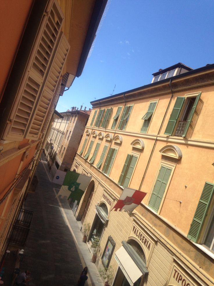 View from my bedroom window #faenza #italy