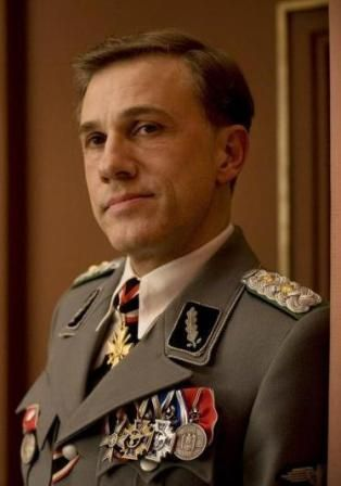 Colonel Hans Landa played by Christoph Waltz, from Inglorious Basterds! He is one great actor ...