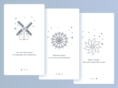 Windmill guide page design