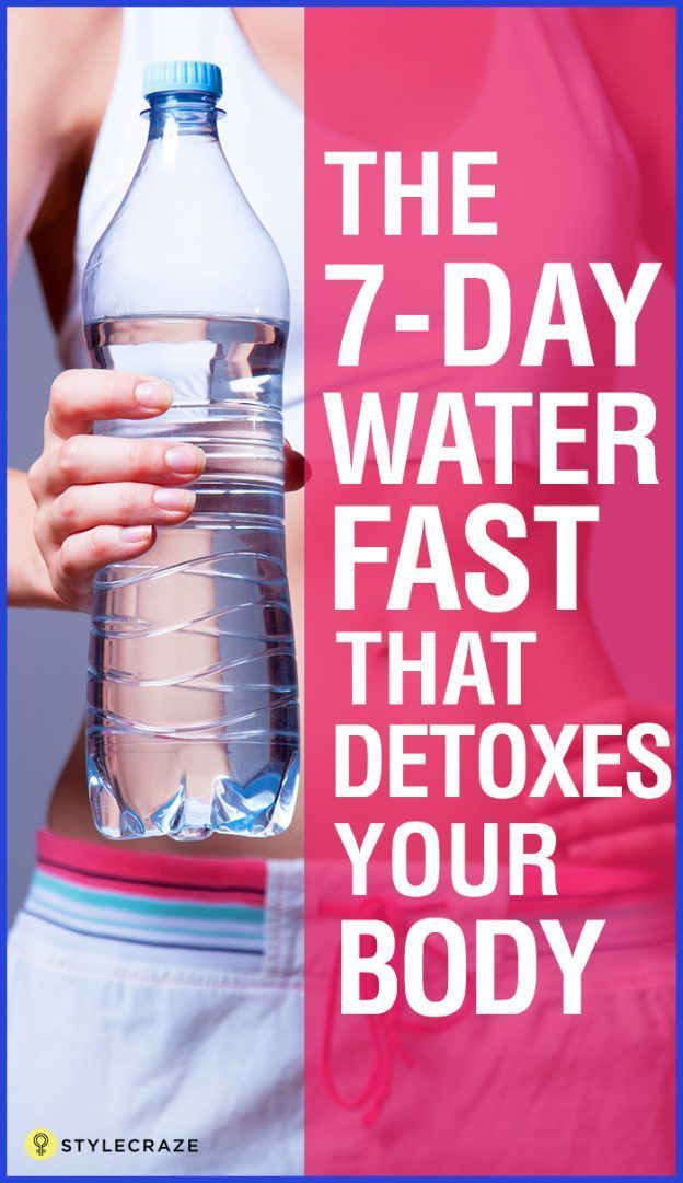 The 7 Day Water Fast That Detoxes Your Body 1