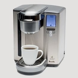 Breville Brewing System -- absolutely love this coffee maker, have one for home and one for work.